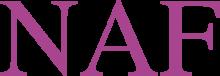 Логотип NAF