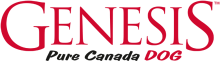 Логотип Genesis Pure Canada Dog