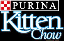 Логотип Kitten Chow Purina