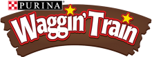 Логотип Waggin Train