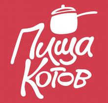 Логотип Пища котов