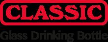 Логотип Classic Glass Drinking Bottle