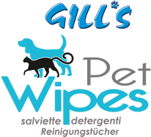 Логотип Gill's Pet Wipes