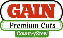 Логотип Gain Premium Cuts Country Stew