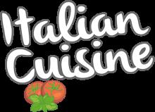 Логотип Italian Cuisine
