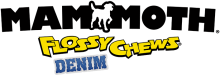 Логотип Mammoth Flossy Chews Denim