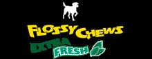 Логотип Mammoth Flossy Chews Extra Fresh