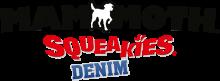 Логотип Mammoth Squeakies Denim