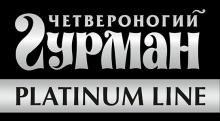 Логотип Четвероногий гурман Platinum line