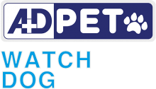 Логотип AD Pet Watch Dog