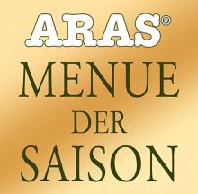 Логотип Aras Menue Der Saison
