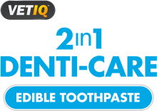 Логотип VETIQ 2 in 1 Dental-Care