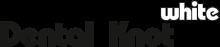 Логотип Dental Knot White