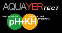 Логотип AQUAYER ТЕСТ pH + KH