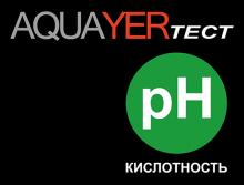 Логотип AQUAYER ТЕСТ pH
