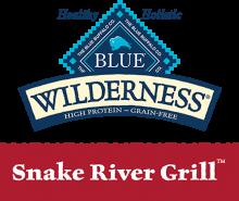 Логотип Blue Wilderness Snake River Grill