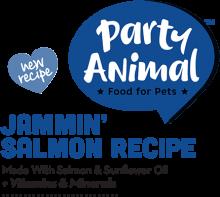 Логотип Party Animal Jammin' Salmon Recipe