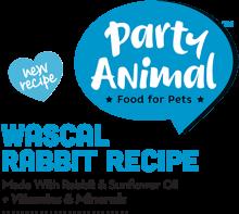 Логотип Party Animal Wascal Rabbit Recipe