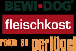 Логотип Bewi Dog Fleischkost reich an Geflugel