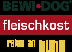 Логотип Bewi Dog Fleischkost reich an Huhn