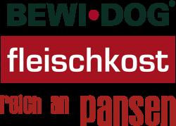 Логотип Bewi Dog Fleischkost reich an Pansen