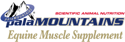 Логотип Pala Mountains Equine Muscle Supplement