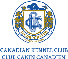 Логотип Canadian Kennel Club