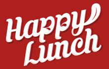 Логотип Happy Lunch