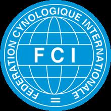 Логотип FCI (Международная Кинологическая Федерация)