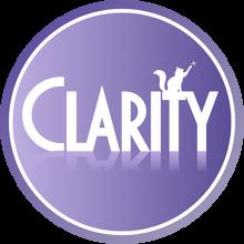 Логотип Клэрити