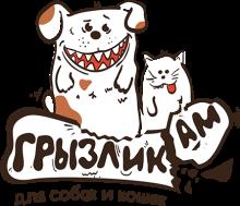 Логотип Грызлик Ам