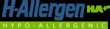 Логотип H-Allergen HA+