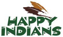 Логотип Happy Indians