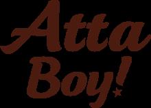 Логотип Atta Boy!