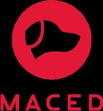 Логотип Maced