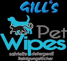 Логотип Gill's Pet Wipes