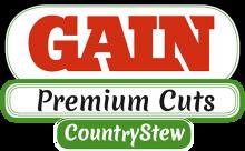 Логотип Gain Premium Cuts Country Stew