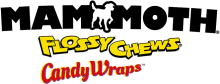 Логотип Mammoth Flossy Chews Candy Wraps