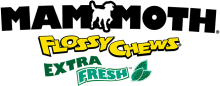 Логотип Mammoth Flossy Chews Extra Fresh