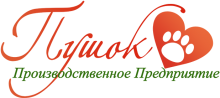 Логотип Пушок