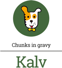 Логотип Kalv Chunks In Gravy