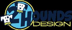Логотип 2 Hounds Desigh