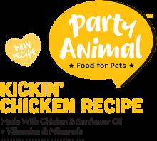 Логотип Party Animal Kickin' Chicken Recipe