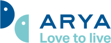 Логотип Arya