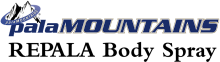 Логотип Pala Mountains Repala Body Spray