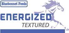 Логотип Bluebonnet Feeds Energized Textured