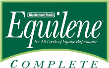 Логотип Bluebonnet Feeds Equilene Complete