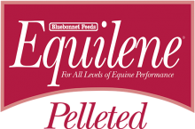 Логотип Bluebonnet Feeds Equilene Pelleted