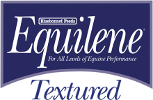Логотип Bluebonnet Feeds Equilene Textured