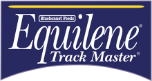Логотип Bluebonnet Feeds Equilene Track Master